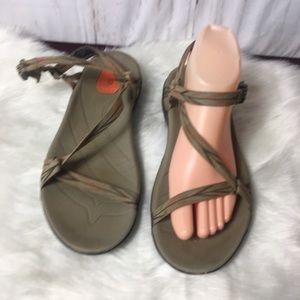 Teva women's sandals anatomic footbed 8.5